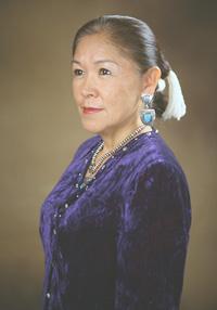 Virgina Yazzie-Ballenger, Navajo fashion designer